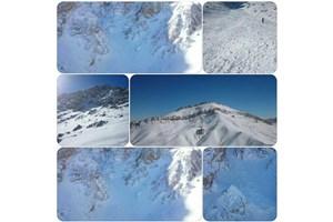 هشت نفر زیر برف مدفون شدند/ ریزش بهمن در اشترانکوه لرستان روی تیم کوهنوردی+اسامی مفقودان