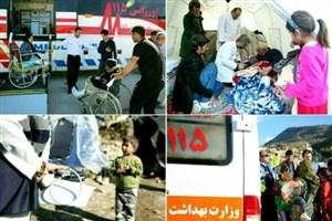 وزیر بهداشت از خدمات نیروهای بهداشتی و درمانی در زلزله غرب کشورقدردانی کرد