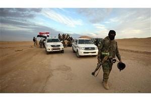 ارتش عراق در جستجوی بقایای داعش در بیابان ها