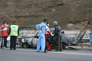 نجات 119 مصدوم در سوانح ترافیکی طی 72 ساعت گذشته