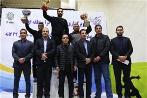 برگزاری اختتامیه هشتمین المپیاد کشتی پهلوانی شهر تهران در سالن  شهید رضایی مجد