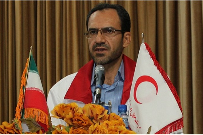 حسن خدابنده لو مدیر عامل جمعیت هلال احمر استان کردستان