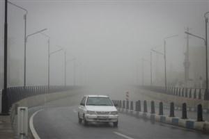 ترافیک در آزاد راه کرج/مه گرفتگی در محورهای استان خراسان رضوی