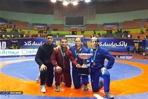 قهرمانی دانشجویان دانشگاه آزاد اسلامی در مسابقات کشتی آزاد جام باشگاههای جهان