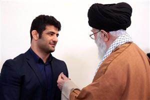 رهبر انقلاب در دیدار علیرضا کریمی: واقعاً احساس عزت کردم