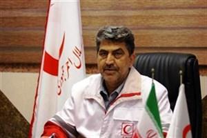 حضور هلال احمر خوزستان در مناطق زلزله زده کرمانشاه ادامه دارد