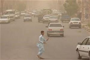 گرد و غبار مهمان آخر هفته سیستان و بلوچستان