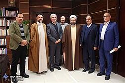 دیدار نمایندگان مجلس شورای اسلامی با دکتر فرهاد رهبر