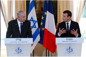 متن کامل سخنان نتانیاهو در نشست خبری با مکرون
