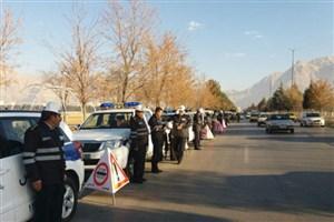 طرح زمستانی پلیس راه در استان کرمانشاه کلید خورد