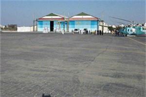 بهره برداری از فرودگاه شهدای هفتم آذر جاسک