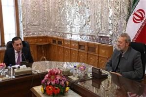 رئیس گروه دوستی پارلمانی ارمنستان و ایران با لاریجانی دیدار کرد
