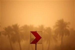 حرکت گرد و خاک از سمت عراق به خوزستان
