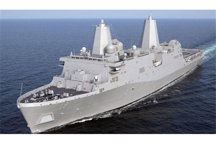 کشتی جنگی آمریکایی