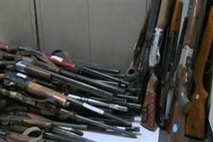 کشف ۸۲ قبضه اسلحه غیر مجاز در خوزستان