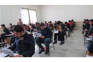 برگزاری بخش کتبی بیست و سومین دوره مسابقات سراسری قرآن و عترت دانشگاه آزاد اسلامی واحد بروجن