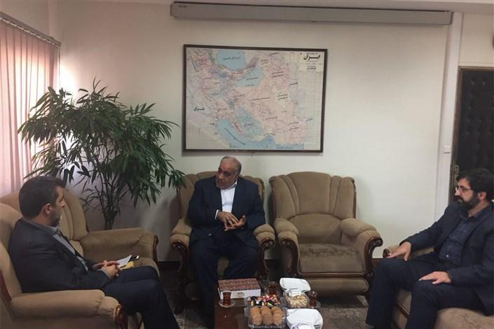 دیدار استانداران کرمانشاه و اردبیل با دین پرست معاون هماهنگی امور اقتصادی وزارت کشور