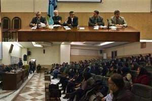 طرح مطالبات دانشجویان دکتری با هیات رئیسه دانشگاه ارومیه