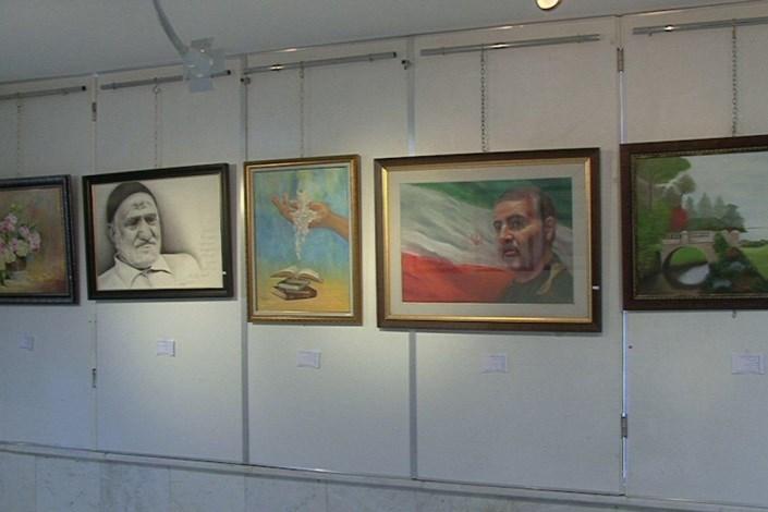 نمایشگاه جشنواره هنرهای تجسمی