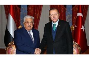 عباس با رجب طیب اردوغان گفتگو کرد