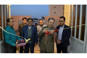 سالن ورزشی چند منظوره مجتمع خوابگاهی پسرانه دانشگاه شهید چمران اهواز به بهره برداری رسید