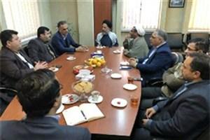 دیدار مدیر شعب بانک ملی استان گلستان با رئیس دانشگاه آزاد اسلامی گرگان