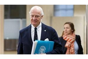 دیمیستورا: اهداف مربوط به روند مذاکره را به دست نیاورده ایم