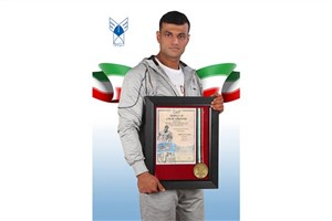 Rasht IAU Student Snatches Bronze in 2017 Dubai Muscle Show