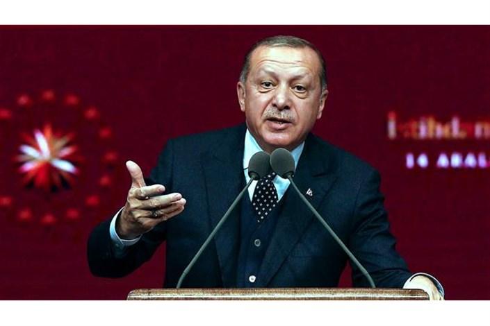 اردوغان: تصمیم ترامپ پوچ است و قدس پایتخت فلسطین است