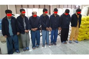 راهزنان جاده ای در عملیات ضربتی  پلیس دستگیر شدند