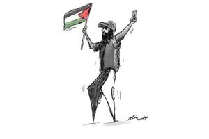فلسطین پاهای او بود!