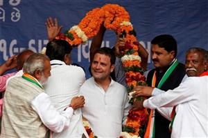 رائول گاندی رهبر حزب کنگره هند شد