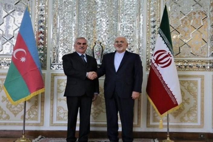 رئیس مجلس عالی نخجوان با ظریف دیدار کرد