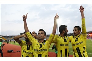 پیروزی پارس جنوبی مقابل نفت در حضور بازیکن سابق پرسپولیس