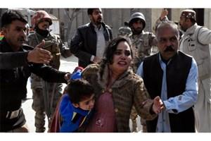 کشته و زخمی شدن بیش از 45 تن در حمله به کلیسایی در پاکستان