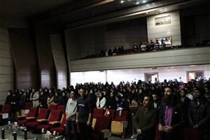 «اسرافیل» در دانشگاه مشهد روی پرده رفت