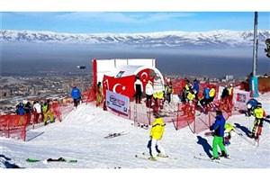 کسب 4 نشان دیگر برای اسکی بازان ایران در روز سوم