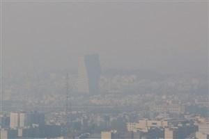 آلودگی هوا  ادامه دارد/ هوای تهران، امروز آلوده تر از دیروز است