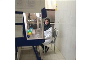 حضور پژوهشگر جوان دانشگاه آزاد واحد دامغان در نمایشگاه زیست فناوری دانشگاه تربیت مدرس