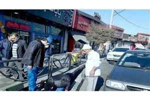اجرای طرح ضربتی مبارزه با حیوانات مضر شهری درخیابان دشت آزادگان و میدان بهمن