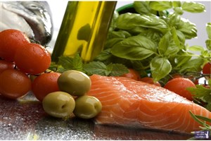 ورزش و رژیم غذایی مدیترانه ای موجب کاهش رسوبات چربی می شود