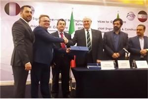 امضای قرارداد ۳۴ میلیون یورویی ایران و ایتالیا در صنعت پتروشیمی