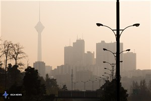 هوای تهران آلوده شد؛ شاخص 110