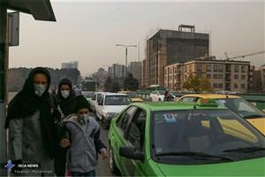 چشم ها به آسمان دوخته شده/هوای تهران همچنان ناسالم است