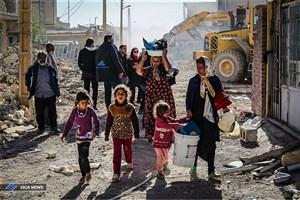 امدادرسانی هلال احمردر ۸۱ روستای زلزلهزده آذربایجانشرقی