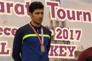 دانشجوی دانشگاه آزاد اسلامی قهرمان لیگ جهانی کاراته شد