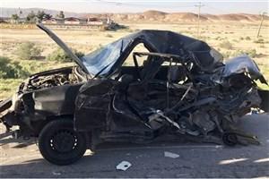 درتصادف  وانت و پراید چهار نفر  کشته  و یک نفر مصدوم  شدند