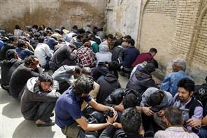 جمع آوری ۱۲۰۰معتاد متجاهر و دستگیری۱۴۰ سارق در تهران