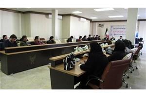 برگزاری نشست معرفتی و بصیرتی حماسه 9 دی در دانشگاه آزاد واحد اردبیل