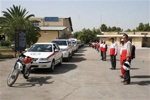 نیروهای امداد و نجات شهرقدس در ۱۰ نقطه شهر مستقر شدند